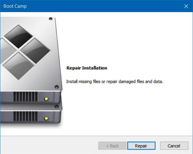 sửa chữa và cập nhật trình điều khiển trại khởi động trong Windows 10 (1)