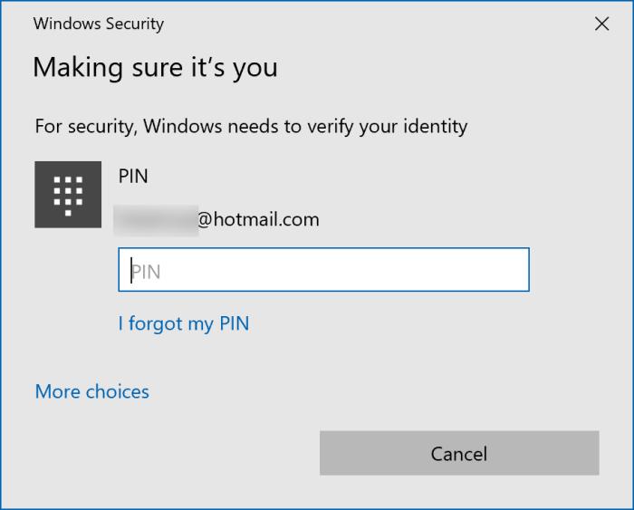 đăng xuất khỏi tài khoản Microsoft trong Windows 10 pic3