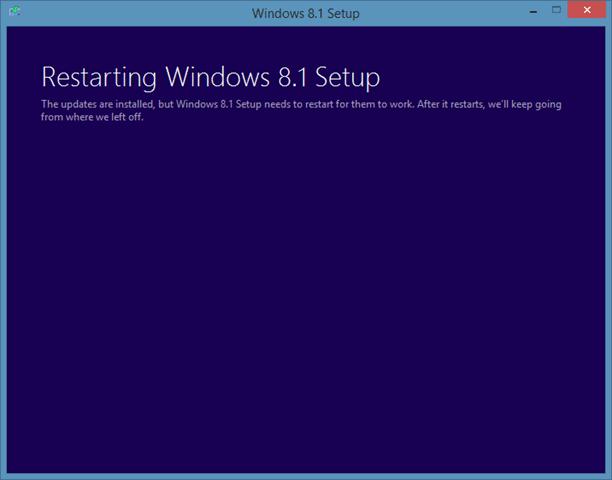 Sửa chữa cài đặt Windows 8.1 Bước 2