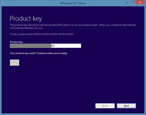 Sửa chữa cài đặt Windows 8.1 Bước 3