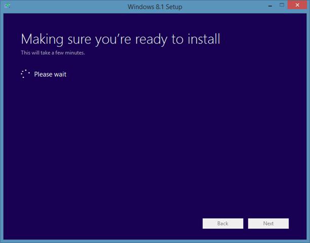 Sửa chữa cài đặt Windows 8.1 Bước 6