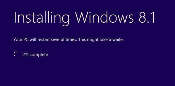 sửa chữa cài đặt Windows 8.1 bước 7