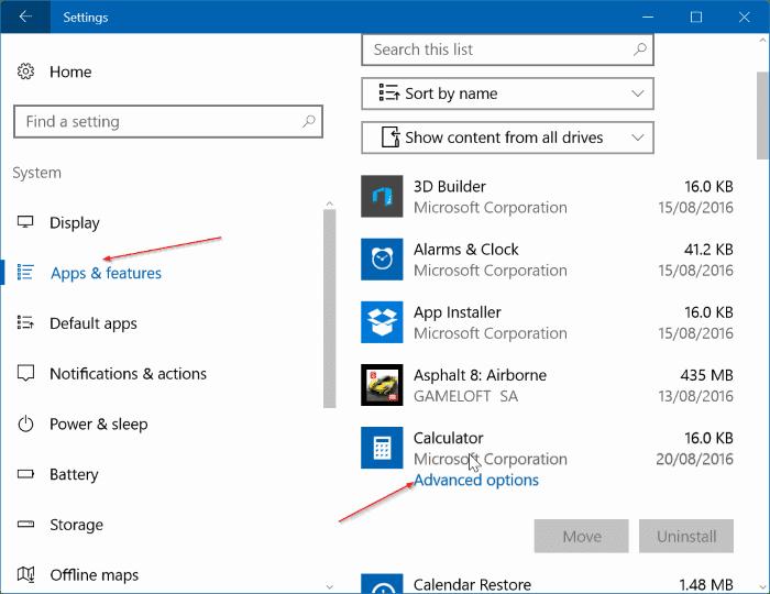 đặt lại hoặc cài đặt lại Máy tính trong Windows 10 step01