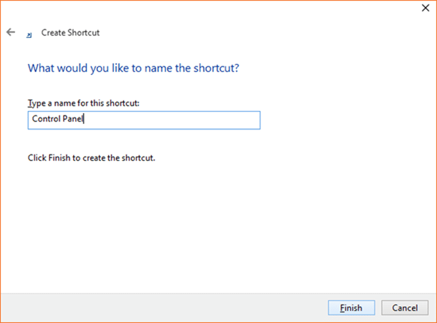 Mở Control Panel Windows 10 step6