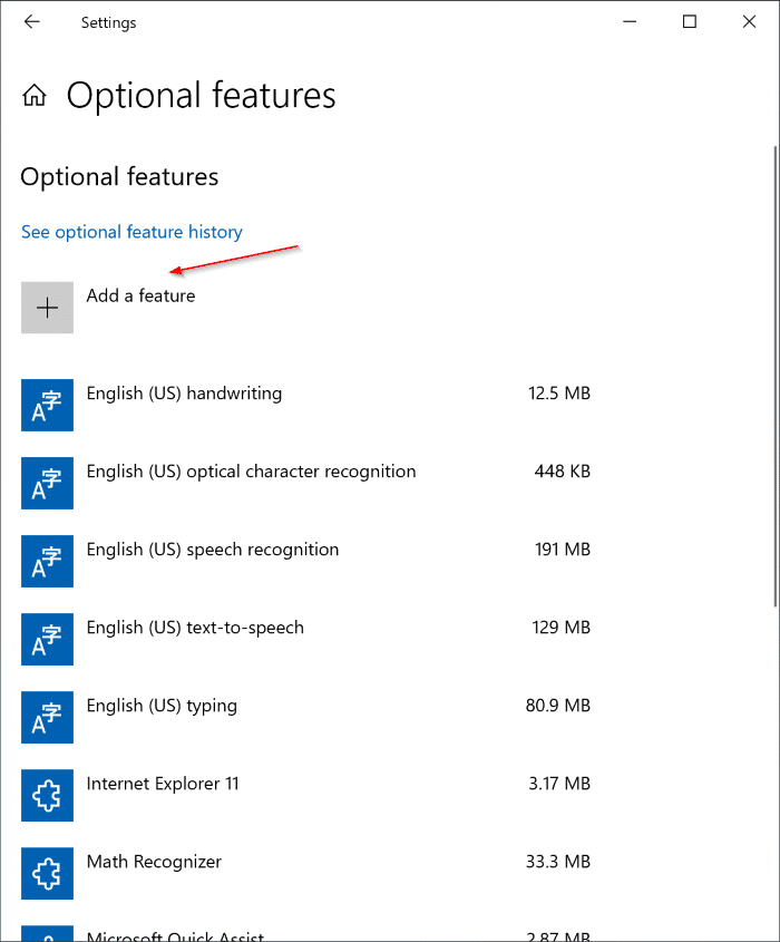 Cài đặt hoặc gỡ cài đặt WordPad trong Windows 10 pic2