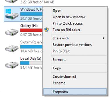 Xóa thư mục Windows.old trong Windows 10 step2