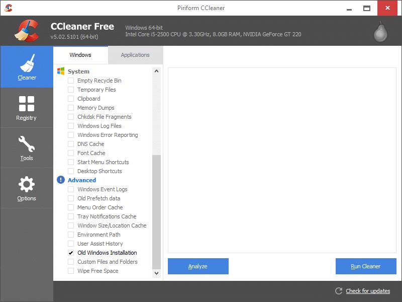 Xóa thư mục Windows.old trong Windows 10 step7