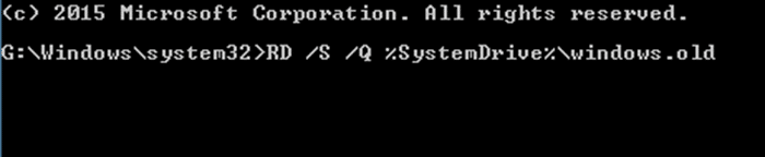 Xóa thư mục Windows.old trong Windows 10 step9