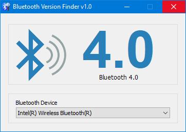 kiểm tra phiên bản bluetooth trong windows 10