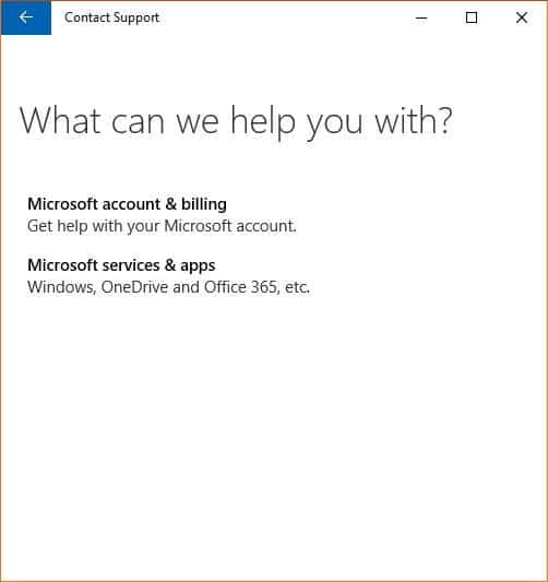 Trò chuyện với Microsoft hỗ trợ Windows 10 picture2