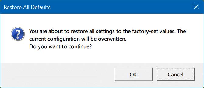 đặt lại cài đặt bàn di chuột Windows 10 pic4