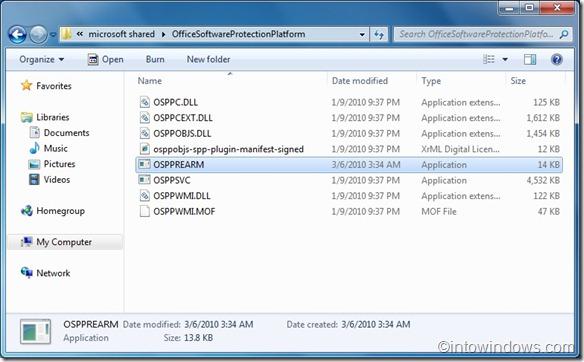 Mở rộng phiên bản dùng thử Office 2010
