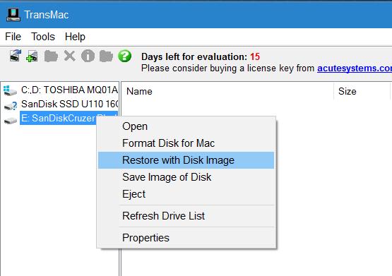 tạo usb khởi động macos sierra từ Windows step5