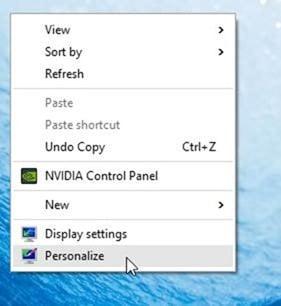 Thay đổi chủ đề màn hình mặc định trong Windows 10