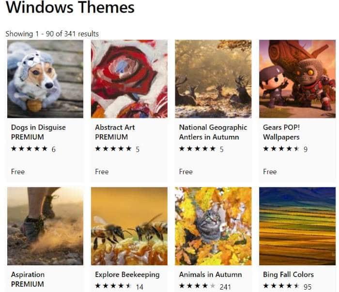 thay đổi chủ đề Windows 10 pic1