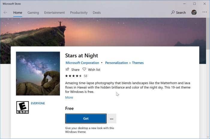 thay đổi chủ đề Windows 10 pic4