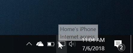 kết nối PC Windows 10 với iPhone hotspot pic3