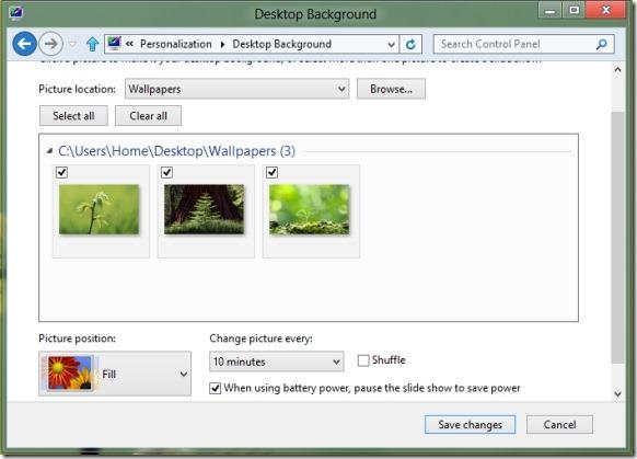 Tạo chủ đề Windows 8 Step2