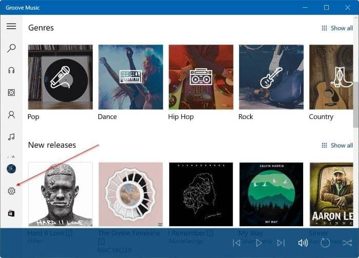 Đặt lại Groove Music trong Windows 10 pic2