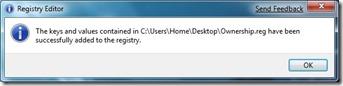 Xác nhận trình chỉnh sửa registry 2