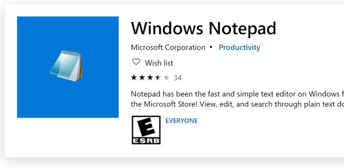 cài đặt hoặc gỡ cài đặt notepad trong Windows 10