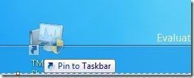 Ghim Task Manager vào Màn hình Bắt đầu Bước 3