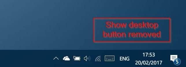 loại bỏ nút hiển thị màn hình nền khỏi windows 10 thanh tác vụ pic2