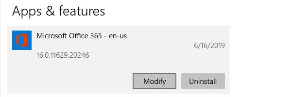 Các tệp word .docx và .doc hiển thị biểu tượng màu trắng chung - Văn phòng sửa chữa