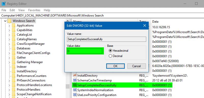 đổi tên thư mục tài khoản người dùng của bạn trong windows - thiết lập đã hoàn thành thành công