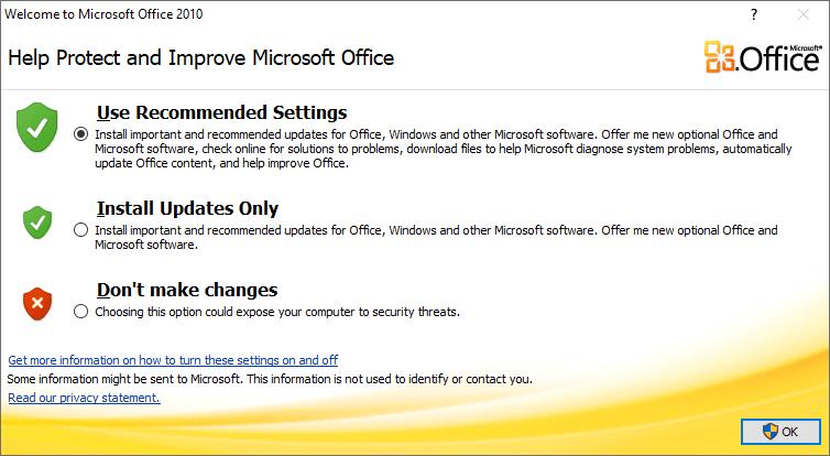 cài đặt trình quản lý hình ảnh văn phòng trong Windows 10