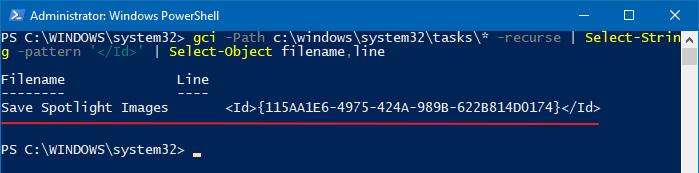 dịch vụ đặt lịch yêu cầu không khả dụng.  Task Scheduler sẽ cố gắng kết nối lại với nó - powershell