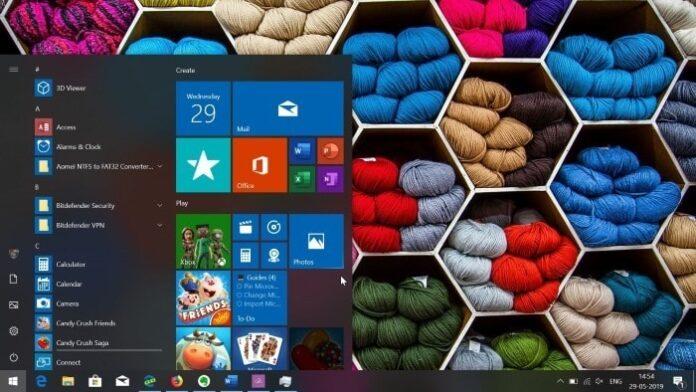 restart the start menu in Windows 10