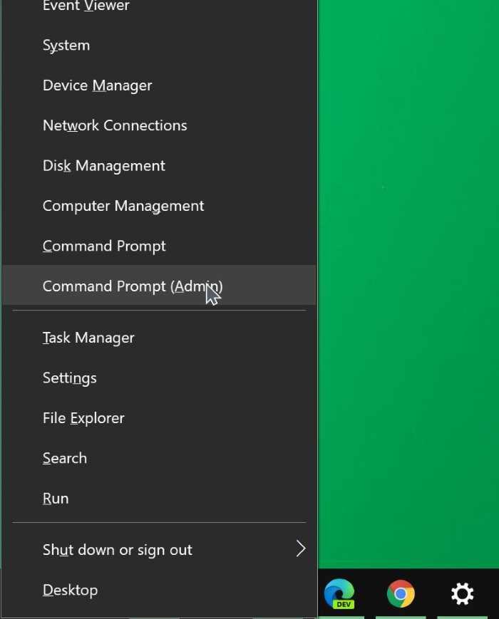 mở dấu nhắc lệnh với tư cách quản trị viên trong Windows 10 pic04