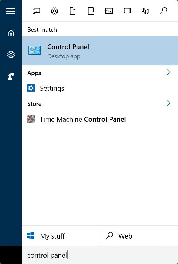 bật hoặc tắt thanh ngôn ngữ trong Windows 10 step1