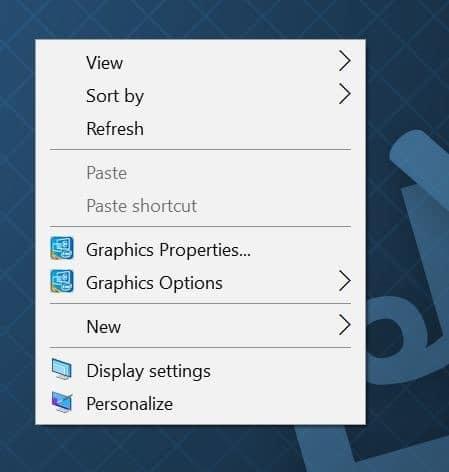 turn on desktop background slideshow in Windows 10 step1