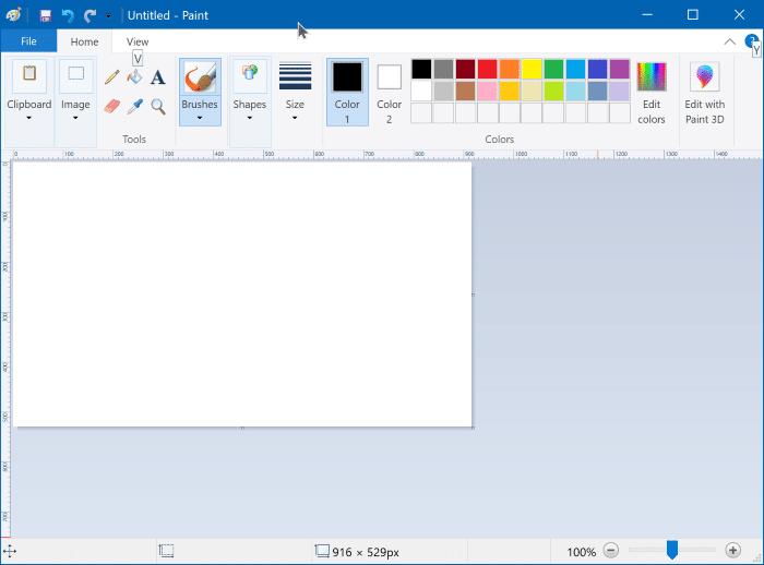cài đặt hoặc gỡ cài đặt Microsoft Paint trong Windows 10