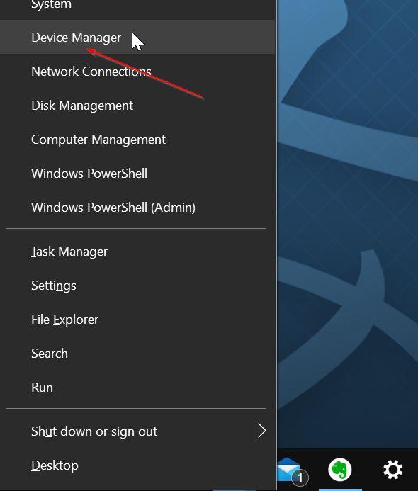 cài đặt lại trình điều khiển âm thanh Windows 10