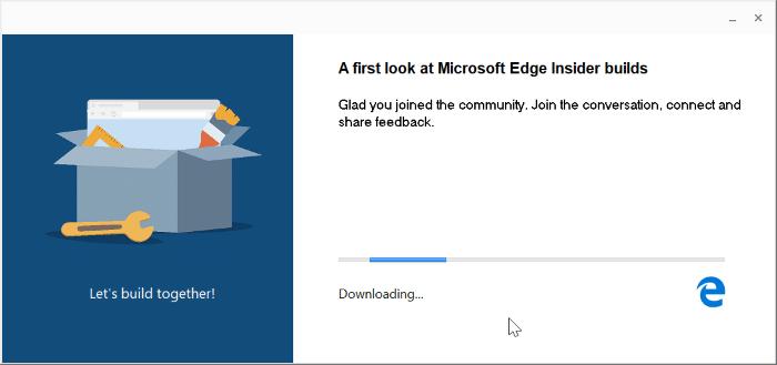 cài đặt Microsoft Edge trên Windows 10 pic2