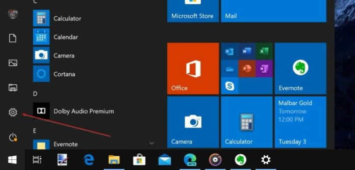 sign out of Microsoft account in Windows 10