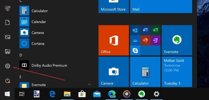 đăng xuất khỏi tài khoản Microsoft trong Windows 10