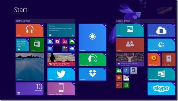Gỡ cài đặt nhiều ứng dụng cùng lúc trong Windows 8.1