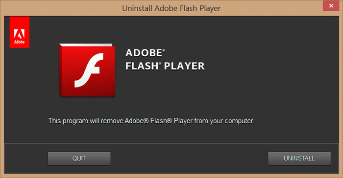 Hoàn nguyên về phiên bản trước của Adobe Flash picture1
