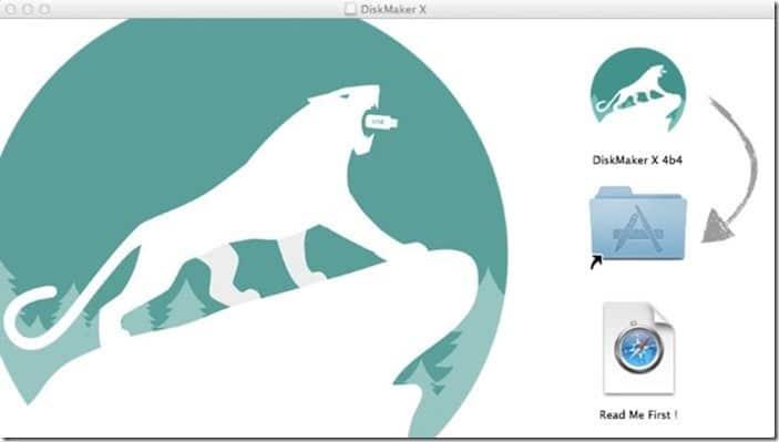USB khởi động Yosemite bằng DiskMaker X