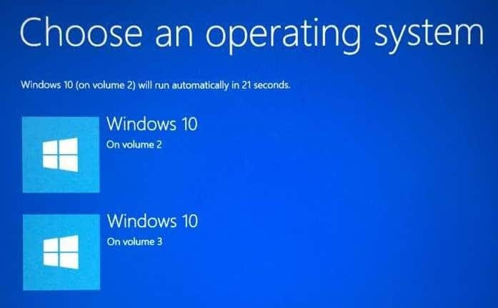 default operating system Windows 10