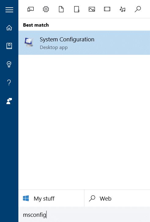 thay đổi hệ điều hành mặc định trong Windows 10 step1