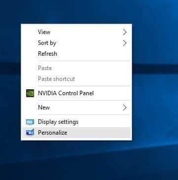 thay đổi màu viền cửa sổ trong Windows 10