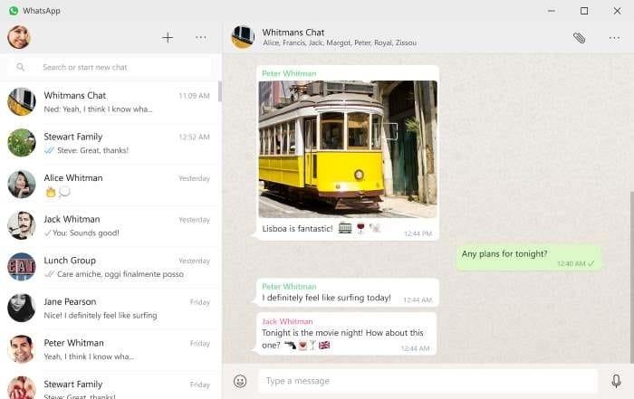 cài đặt máy tính để bàn Whatsapp trên Windows 10