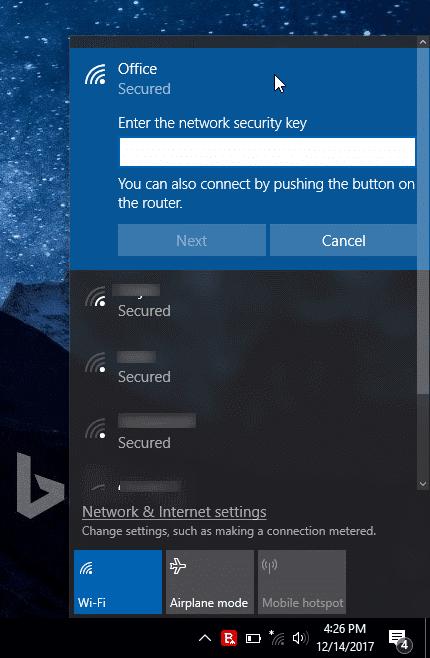 kết nối PC Windows 10 với mạng Wi-Fi mà không cần nhập mật khẩu pic3.jpg