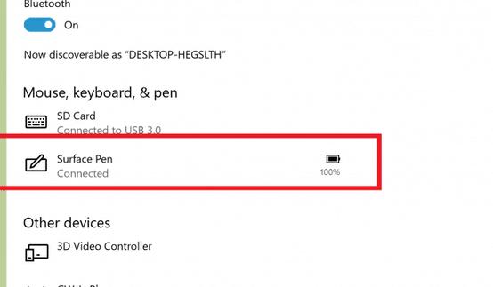 kiểm tra mức pin bàn phím và chuột trong Windows 10 pic1