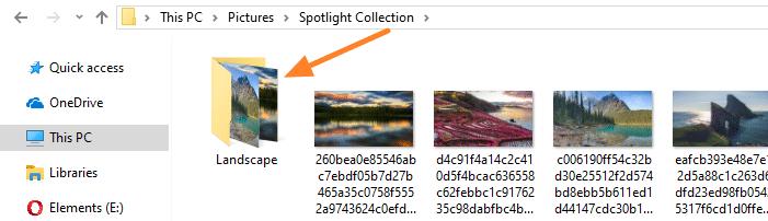 tắt hình thu nhỏ nội dung thư mục